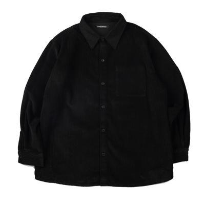 CB 코듀로이 셔츠 (블랙)