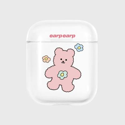 blossom bear friends-clear(Air pods)