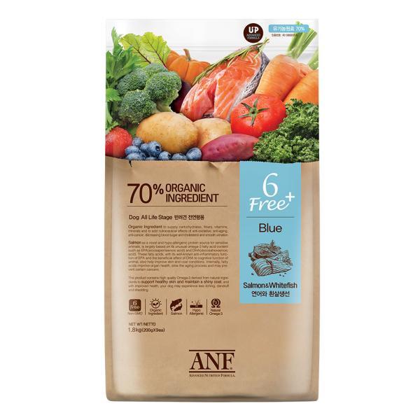 ANF 6Free 플러스 연어+흰살생선 1.8kg 강아지사료