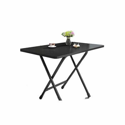 초이스미 소형 접이식 블랙 테이블