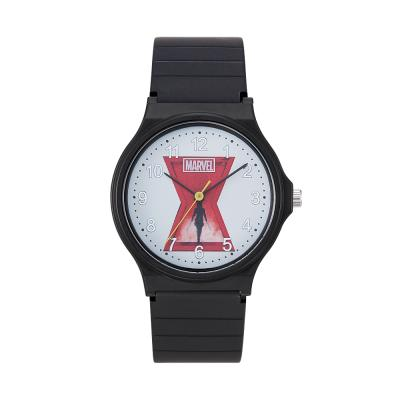 [MARVEL] 마블 블랙위도우 우레탄 손목시계 M10534BKW