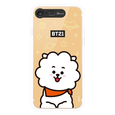 BT21 iPhone8 /7 RJ 미러 라이팅 케이스 (Hybrid)