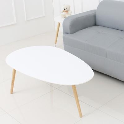 에그 테이블 화이트