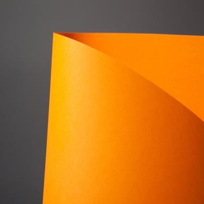 두성종이 칼라복사지 Q03 형광오렌지색 A4 80g 25매포