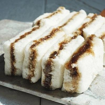 [착한떡] 우유꿀백설기 10개 + 우유백설기 10개