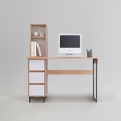 비터 철제 일자 책상 세트 1200 (착불)