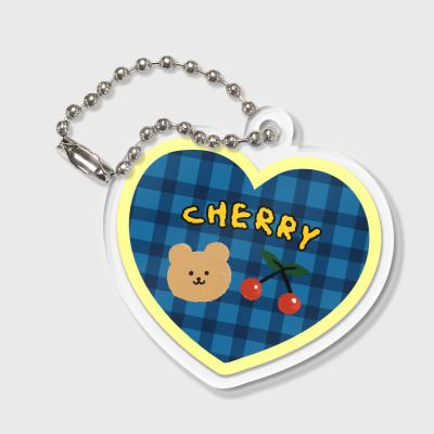 Cherry bear-blue(키링)