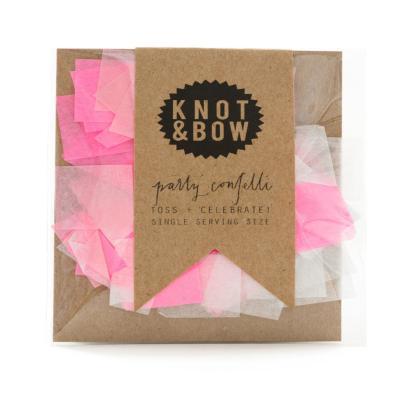 낫앤보우 핑크사각 컨페티 소 KNOT&BOW Confetti