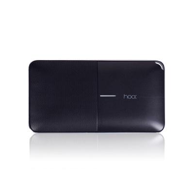 [블랙색상]HOOX 플로우S09 6000mAh 보조배터리 스피커