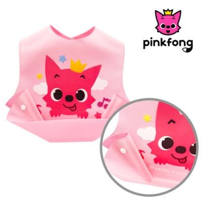 핑크퐁 실리콘 턱받이(핑크)C2152