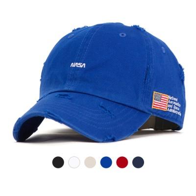 [디꾸보]성조기 총알 워싱 코튼 볼캡 모자 AL160