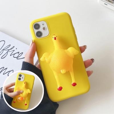 아이폰12 11 pro max xs 8 꼬꼬닭 말랑이 팝잇 케이스