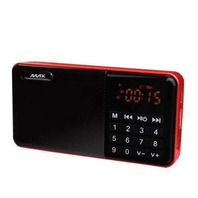 맥스 휴대용 정품 음원 MP3 라디오 효디오 M306