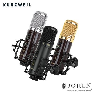 [커즈와일] USB 콘덴서 마이크 KM2U 블랙 /지향성선택