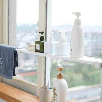 다용도 튼튼한 길이조절 창문선반 옷장선반S