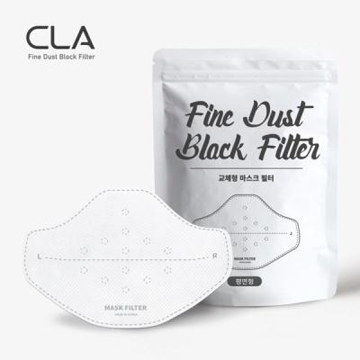 CLA 국내생산 교체형 MB 마스크 필터 평면형 10매