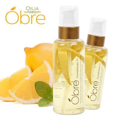 [오일리아]오브레 아로마테라피 바디오일 레몬 140ml