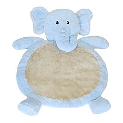 코끼리러그 블루