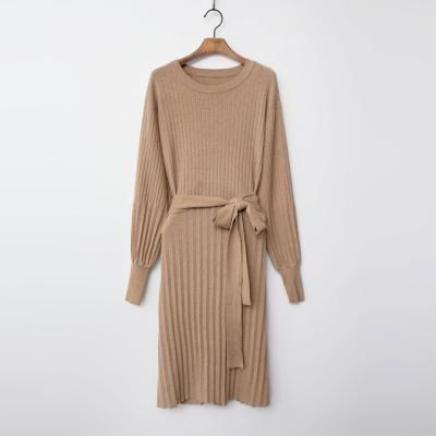Wool N Cashmere Pleats Dress