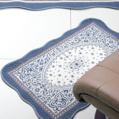 [베누지오]페르시안 블루 워셔블 욕실매트 50x70