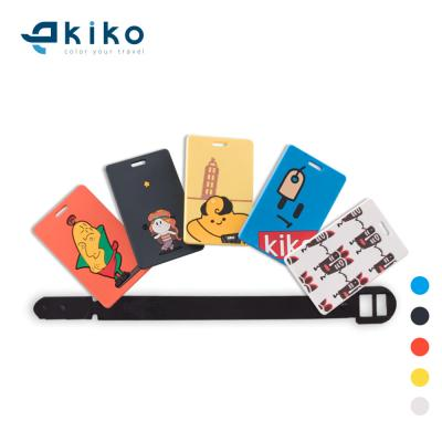 키코 캐릭터 고무 메리와 친구들 PVC 실리콘 네임택