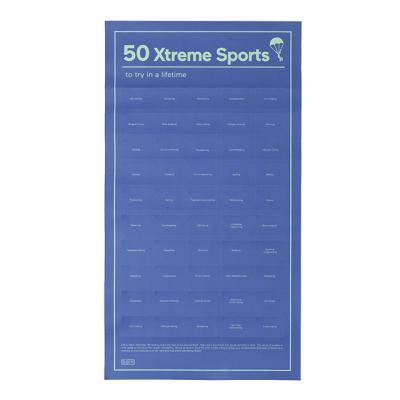 [도이] 50가지 익스트림 스포츠 챌린지 포스터