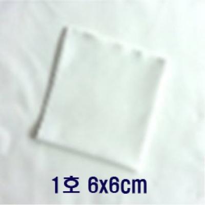 Klaren광학렌즈 악기등 정밀표면용 세척천 6*6cm 1호