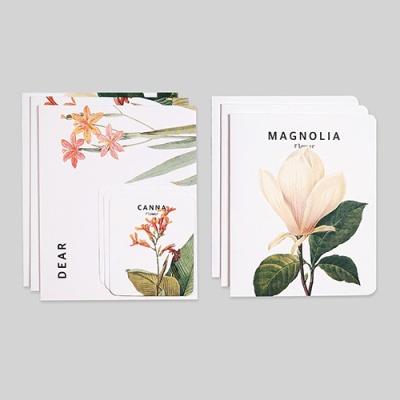 카드 세트-15 플라워6