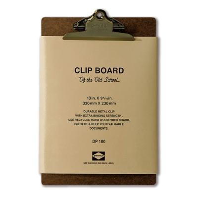 [PENCO] CLIPBOARD O/S A4-BRONZE CLIP