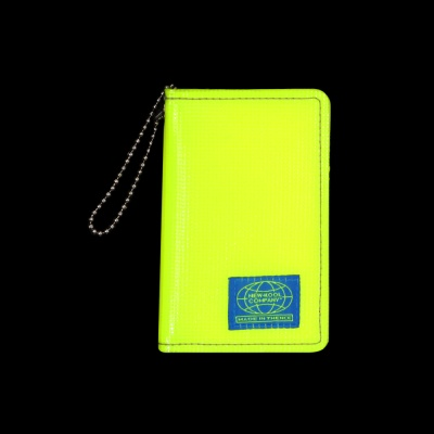 GRID CARD WALLET_NKC_NEON YELLOW