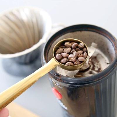 골드 커피 스쿱 집게
