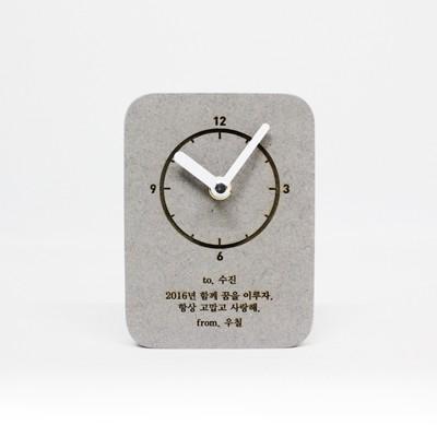 [각인 주문제작]Memory B clock (레이저마킹)