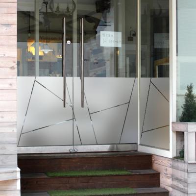 창문시트지 유리시트지 / 컷팅 L-A 패턴스트라이프01