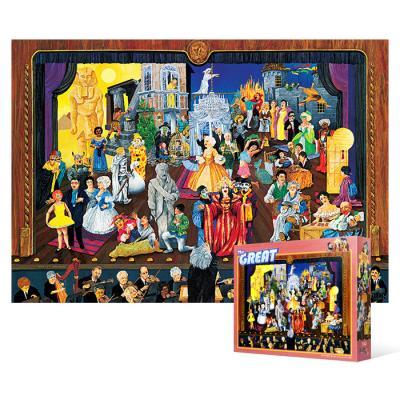 1000피스 직소퍼즐 - 위대한 오페라