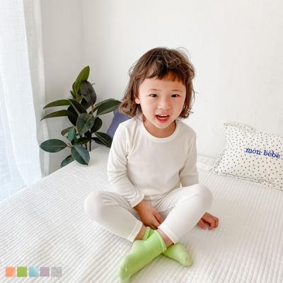 심플 컬러플 유아 실내복 세트(90-130) 204268
