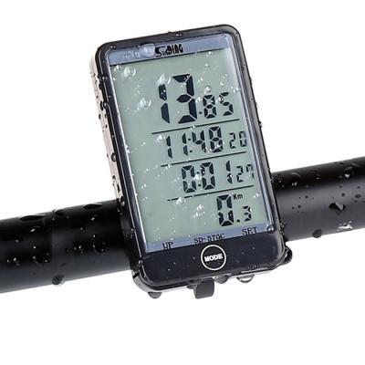 [최저가] 자전거 SD 대형화면 백라이트기능 무선 속도계