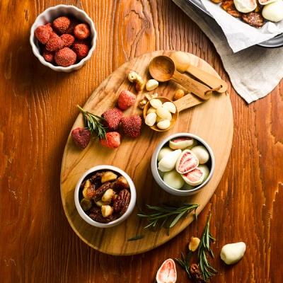 눈꽃딸기&카라멜견과수제 초콜릿만들기 DIY 홈베이킹