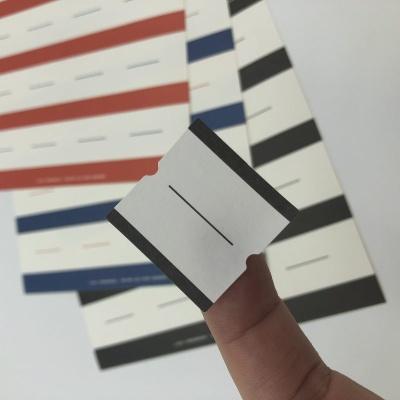 레트로 디자인 이름표 스티커