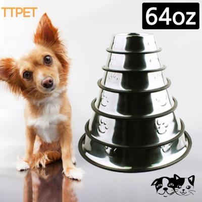 티티펫 스텐식기 (64oz) (애완용 식기)