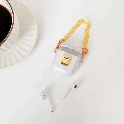 에어팟프로 투명케이스 스트랩 귀여운 1 2세대 실리콘