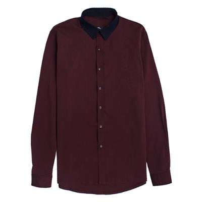 [게타] Getta Navy collar shirt (burgundy)