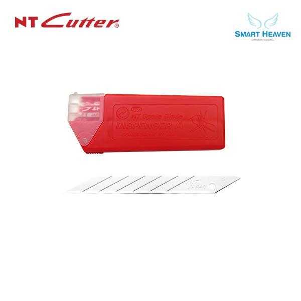 NT커터 BAD-21P 소형 30도 커터날 10개입