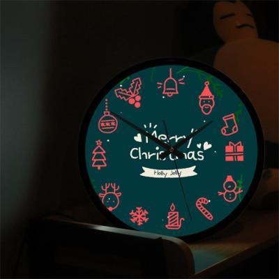 ng276-LED시계액자35R_메리크리스마스
