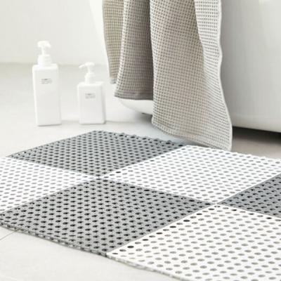인블룸 욕실 미끄럼방지 안전 발매트 3P(TPE소재)