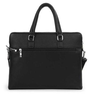 Modern 심플 사각 briefcase 37.5x30cm 핸들고13cm
