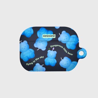 Little fire covy pattern-blue(에어팟프로 하드)