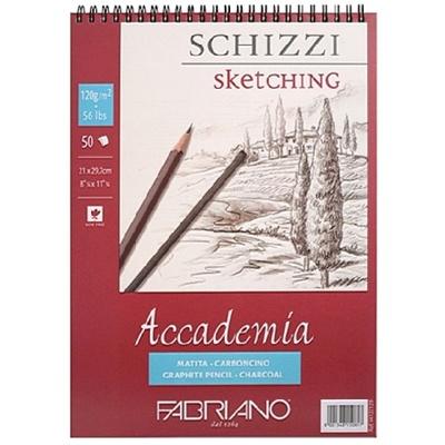 아카데미아 스케치북 AP04 [스프링형](A5)-120g
