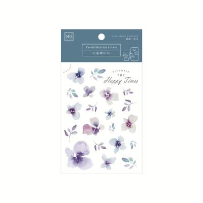 Miccudo 크리스탈 럽 온 스티커 - 02
