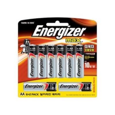[에너자이저] 에너자이저건전지MAX AA (6P+2P) [판/1] 332146
