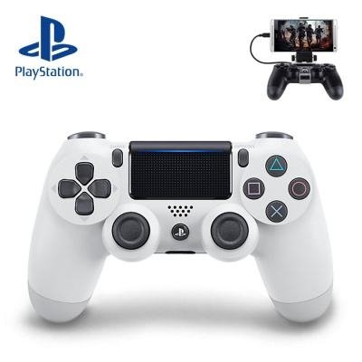 PS4 SONY 듀얼쇼크4 화이트 (스마트폰 마운트 포함)